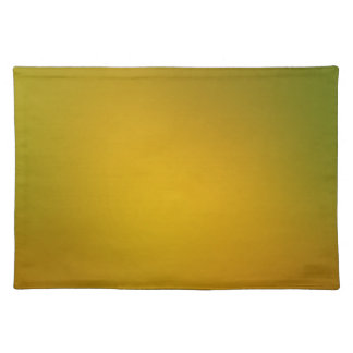 Green to Gold Gradient Place Mats