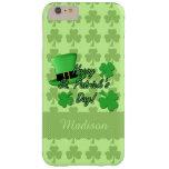 Green top hat Shamrocks St. Patricks iPhone 6 Plus
