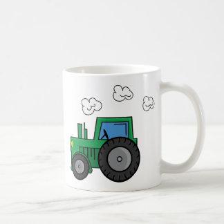 Green Tractor Coffee Mug