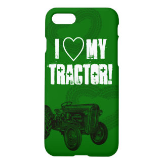 Green Tractor Love iPhone 7/6 Plus Case