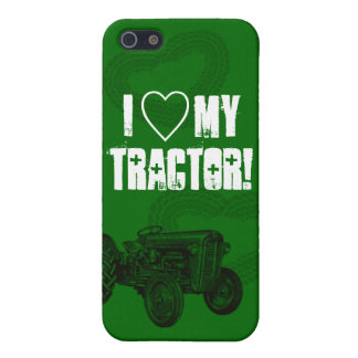 Green Tractor Love iPhone Case iPhone 5/5S Cover