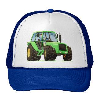 Green Tractor Mesh Hat