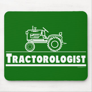 Green Tractor Ologist Mouse Mat