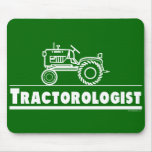 Green Tractor Ologist Mousemat