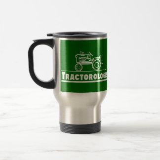 Green Tractor Ologist Travel Mug