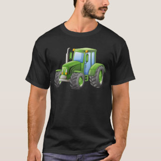 Green tractor with big wheels T-Shirt