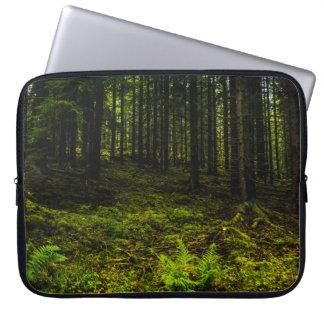 Green travelled Estonian Laptop Sleeve