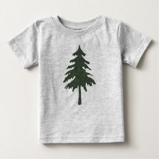 Green Tree Baby T-Shirt