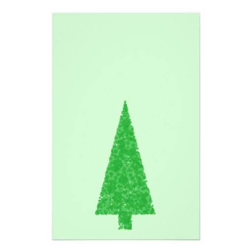 Green Tree. Christmas, Fir, Evergreen Tree. Custom Flyer