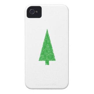 Green Tree. Christmas, Fir, Evergreen Tree. iPhone 4 Case-Mate Case