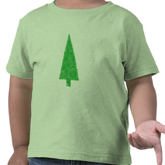 Green Tree. Christmas, Fir, Evergreen Tree. Tee Shirts