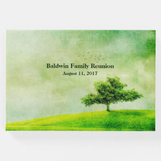 Green Tree Family Reunion Guest Book