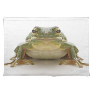 Green tree frog (Hylidae cinerea) Placemat