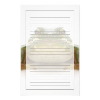 Green tree frog (Hylidae cinerea) Stationery