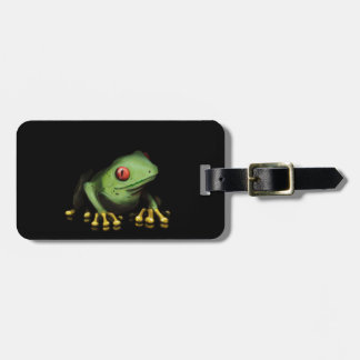 Green Tree Frog Products Customize Luggage Tag