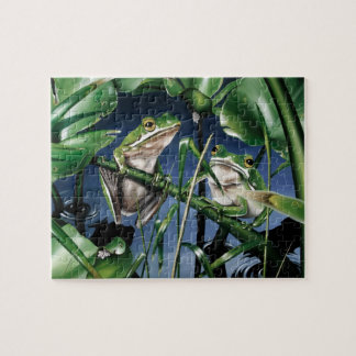 Green Tree Frog Puzzle