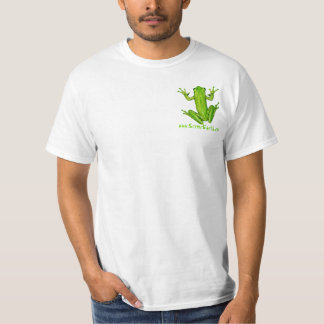 Green Tree Frog Rain forest scenic earth T-Shirt