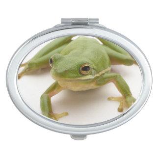Green Tree Frog Vanity Mirrors
