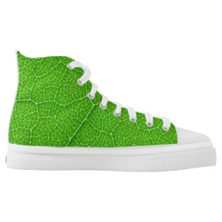 green tree leaf texture nature pattern organic mac printed shoes
