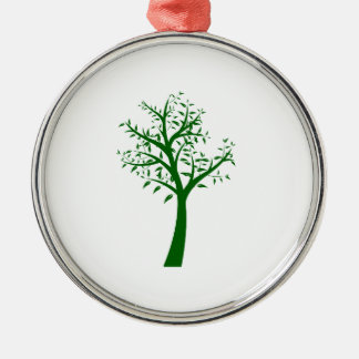 Green tree simple design eco.png christmas ornament