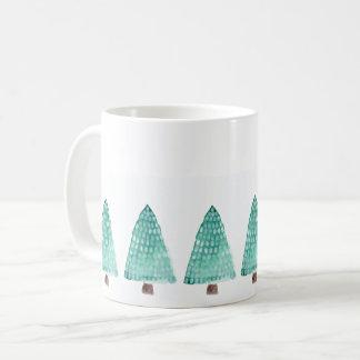 Green Trees Coffee Mug