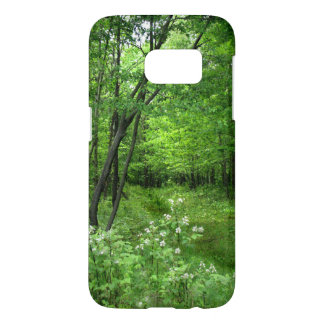 Green Trees Forest Nature Samsung Galaxy S7 Case