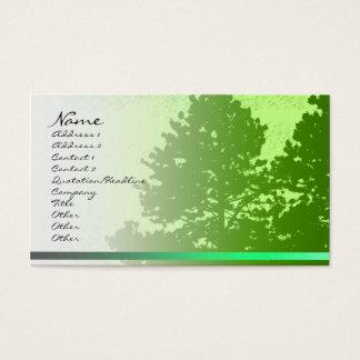 Green Trees Profile Card