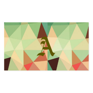 green,trendy,graphic,design,pattern,modern,chic,fu pack of standard business cards