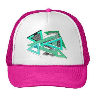 Green Triangle Trucker Hat