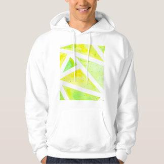 Green Triangle Hoodie