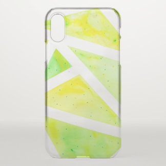 Green Triangle iPhone X Case
