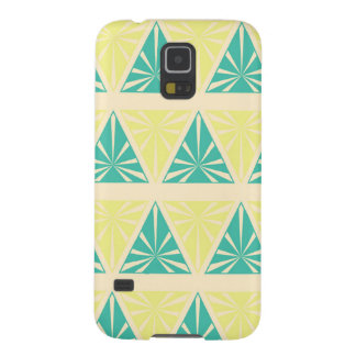 Green Triangle Pattern by storeman Cases For Galaxy S5
