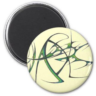 Green tribal magnet