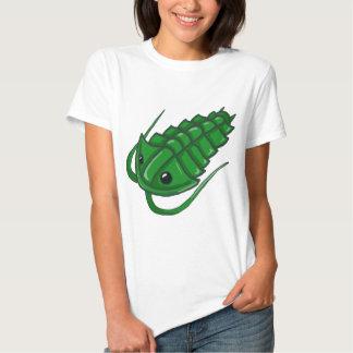 Green Trilobite T-shirts