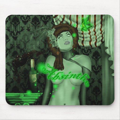 green tripp mousepad