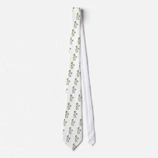 Green trojan tie