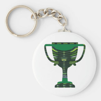 GREEN Trophy Award Cup Environment NVN250 fun Keychains