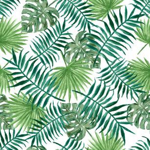 palm tree leaves pattern gifts gift ideas zazzle uk