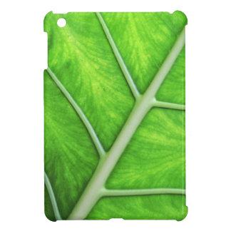 Green Tropical Leaf Texture Photo iPad Mini Case