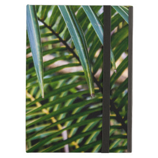 Green Tropical Leaves Cover For iPad Air