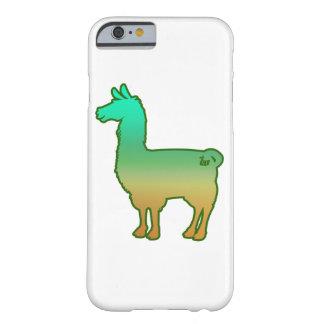 Green Tropical Llama Case