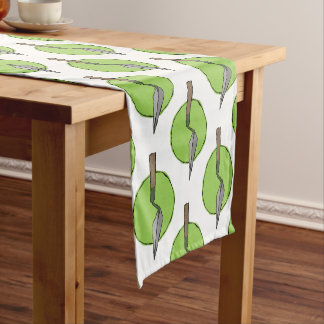 Green Trowel - Archaeologist's Toolkit Short Table Runner