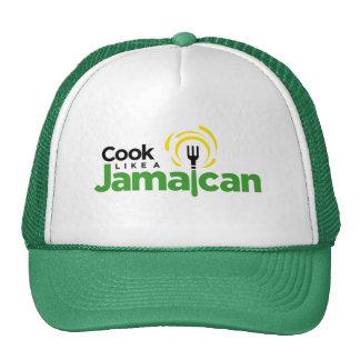 Green Trucker-Style Hat