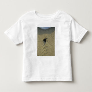 Green Turtle, (Chelonia mydas), hatchling Toddler T-Shirt