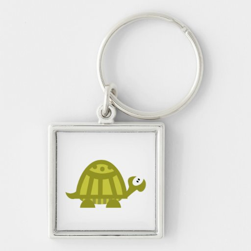 Green Turtle Key Chains