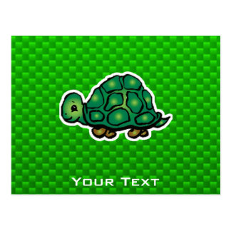 Green Turtle Postcard