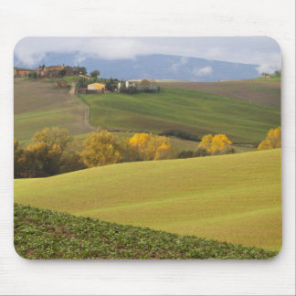 Green Tuscan Countryside Mouse Pad