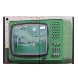 Green TV Cover For iPad Air