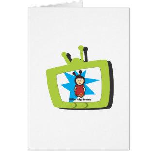 Green TV LLD Greeting Card