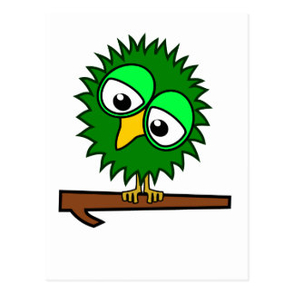 Green Tweet Postcard